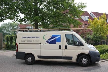 Timmer/bouwbedrijf Nico Hoogenboom